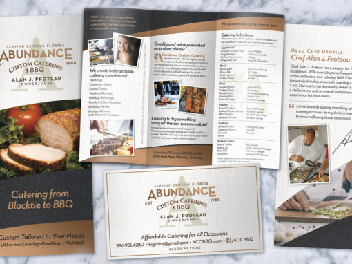 Catering Stationary and Brochure Design System