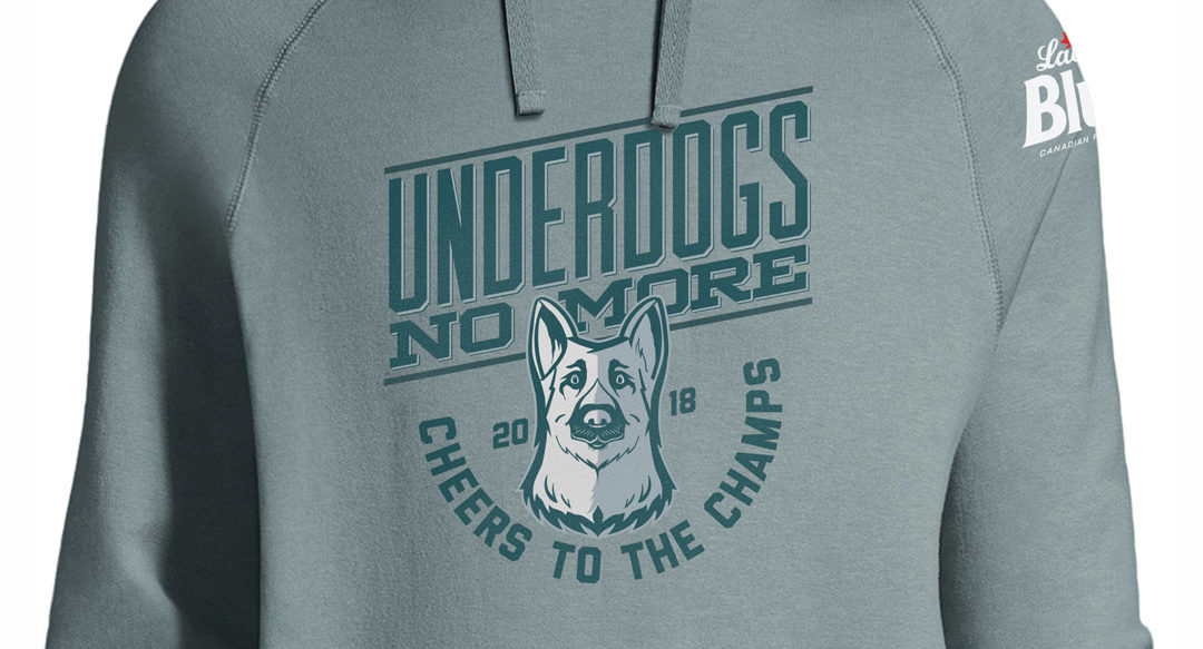 Cheers to the Champs Hoodie Design for Superbowl Champion Eagles