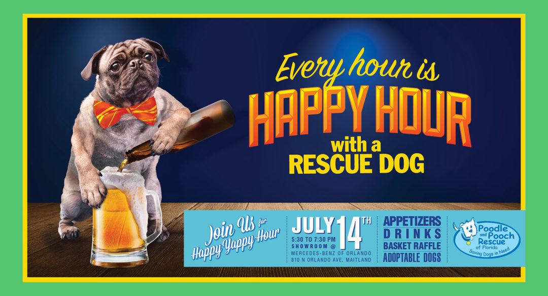 Dog Rescue Facebook Banner Copywriting