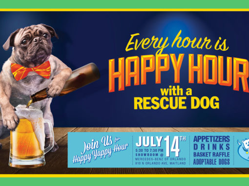 Dog Rescue Facebook Banner Copywriting