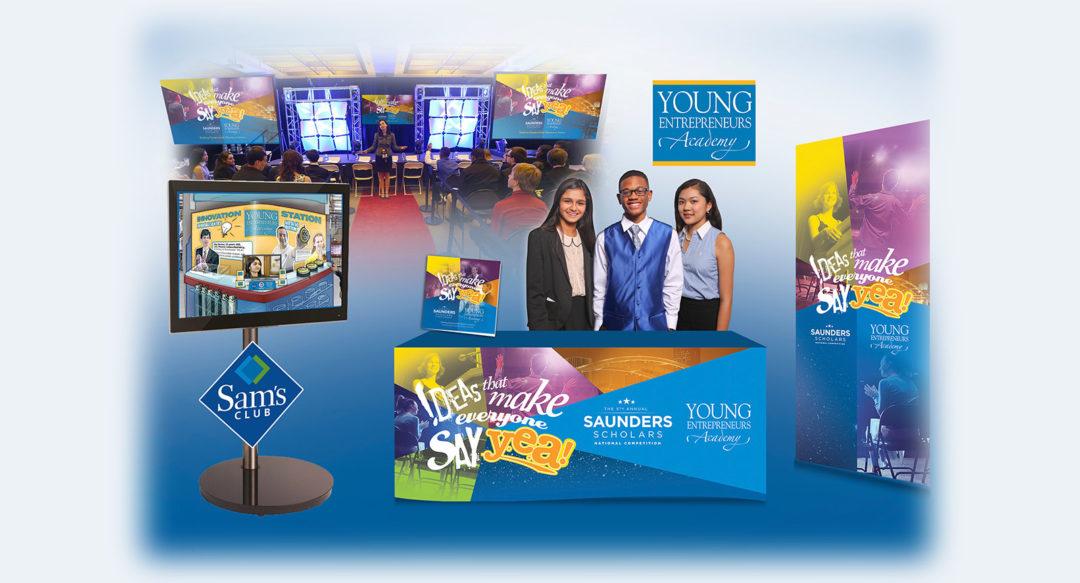 Educational Event Business Competition Presentation Design