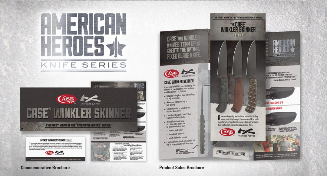 Handmade Knives Brochure Marketing Collateral