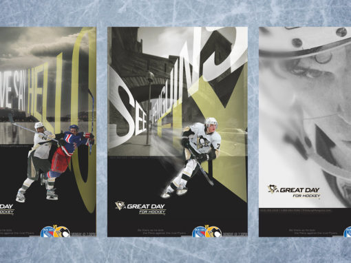 Hockey Advertising Campaign Poster Design Kinetic Typography
