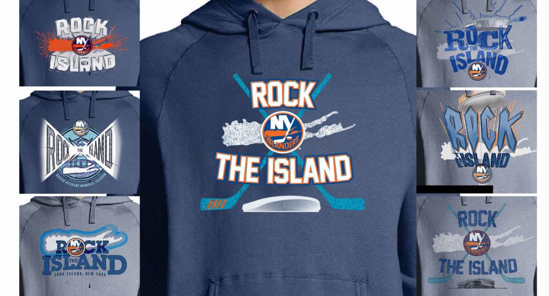 Hockey Beer Partnership Promotion Hoodie NY Islanders
