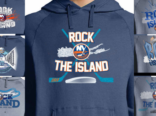 Hockey Beer Partnership Promotion Hoodie NY Islanders