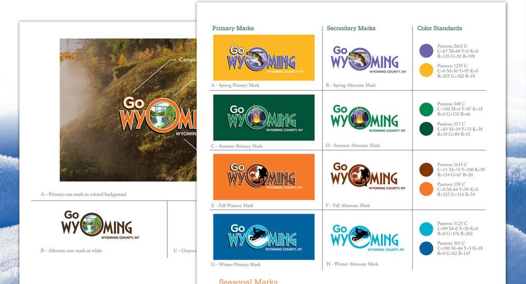 I Love NY Travel Tourism Brand Guideline Logo Design