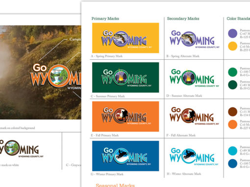 I Love NY Travel Tourism Brand Guideline Logo Design