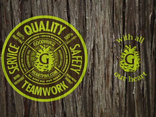 Lumber Company Employee Tshirt Graphic Design