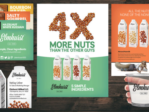 Marketing Materials for Nutmilk Vegan Milk