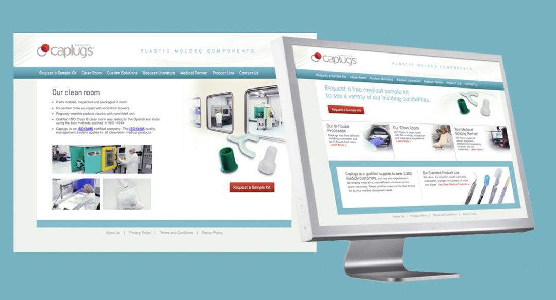 Medical Components Website Brand – Caplugs.com