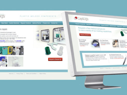 Medical Components Website Brand – Caplugs.com