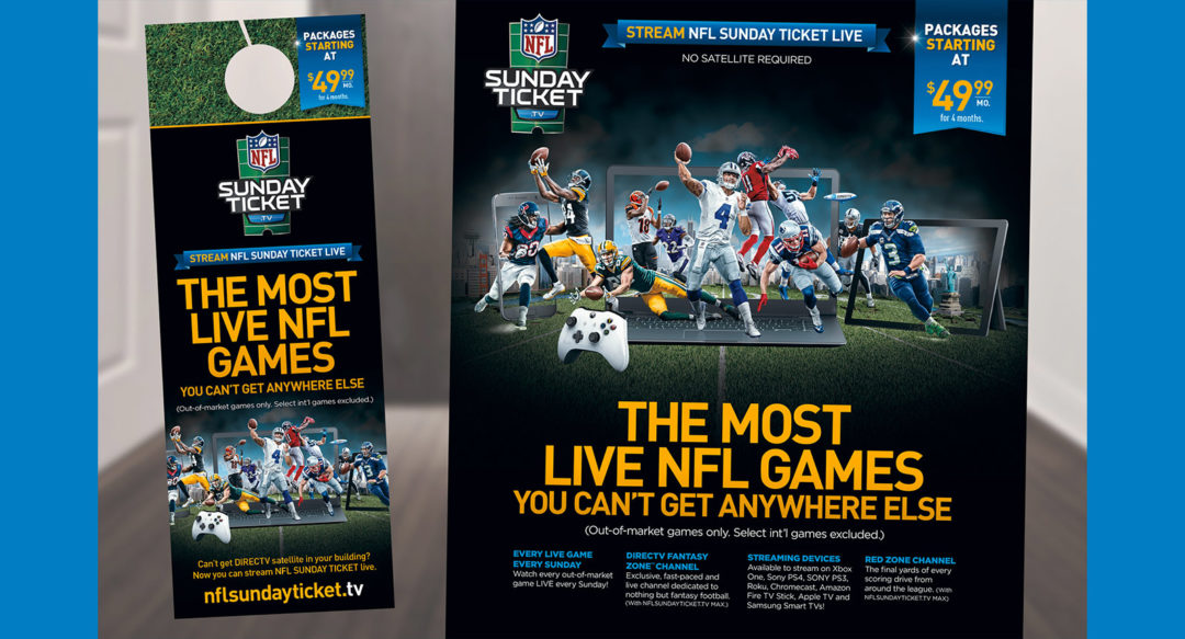 NFL Streaming Ad Campaign Apartments