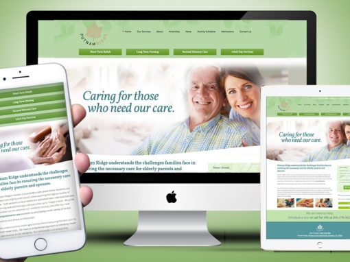 Nursing Home Assisted Living Website Responsive Design