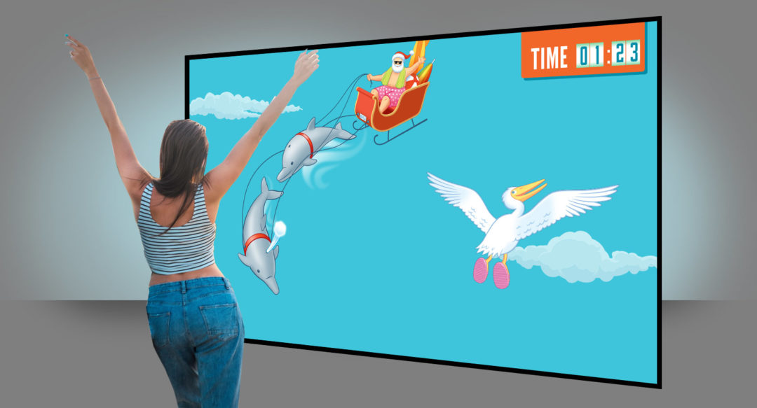 OOH Interactive Gesture Control Experience Marketing