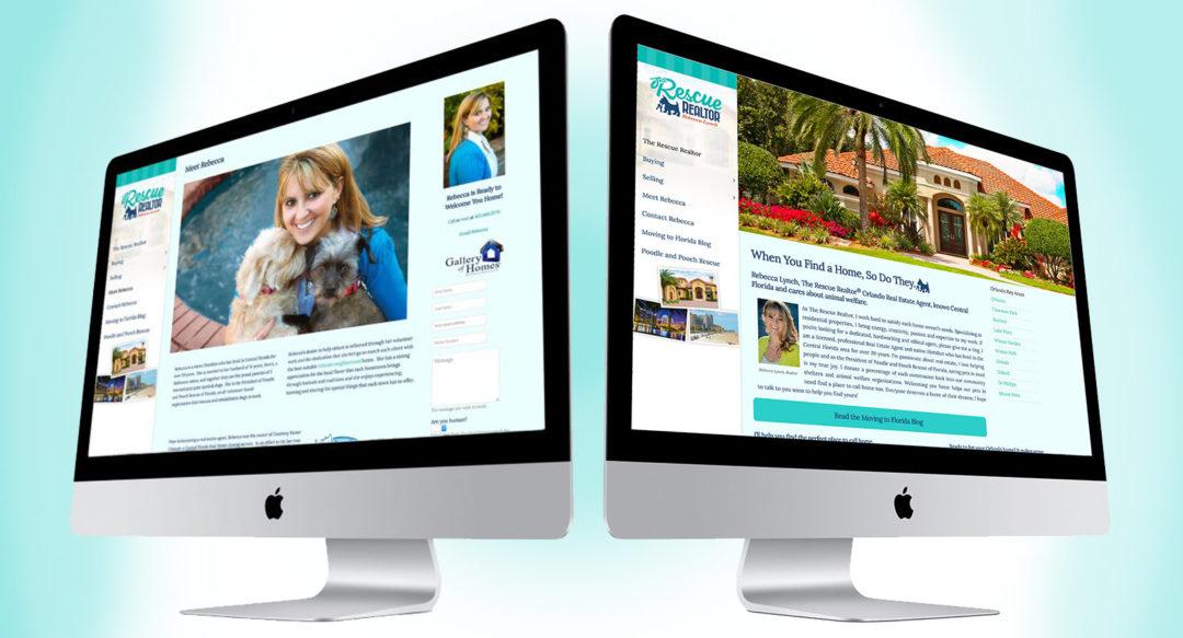 Real Estate Agent Realtor Website Design
