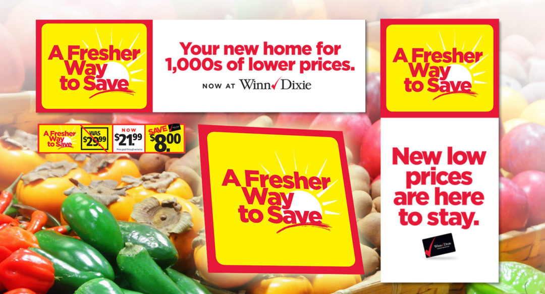 Retail Grocery Store Promotional Campaign Theme