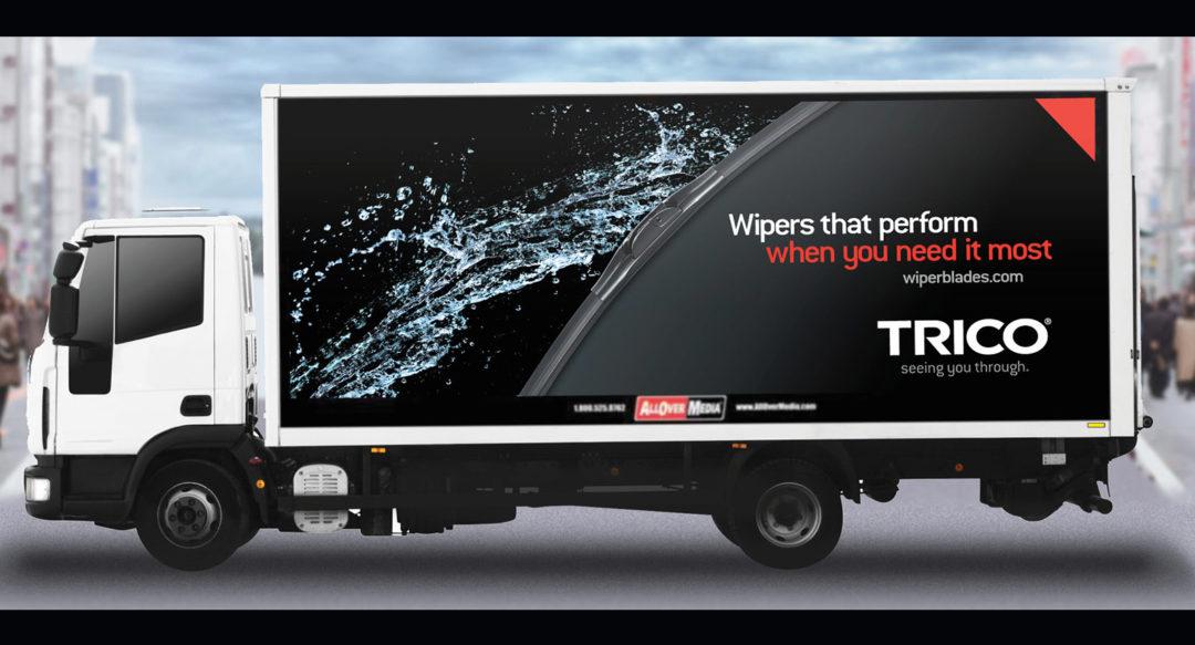 Truck Mobile Billboard Graphic Design