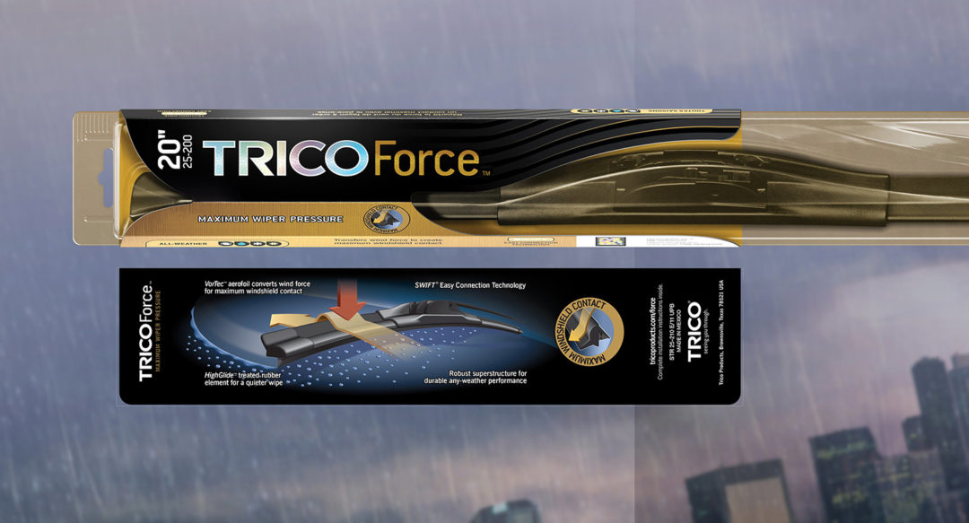Wiper Blade Brand Packaging Graphic Design