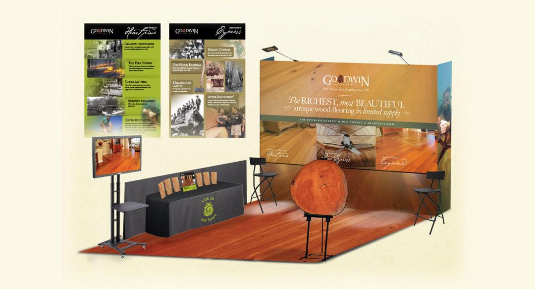 Wood Flooring Tradeshow Design and Graphics