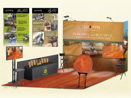 Wood Flooring Tradeshow Design and Graphics