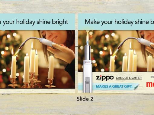 Web Banner Ad Design Zippo